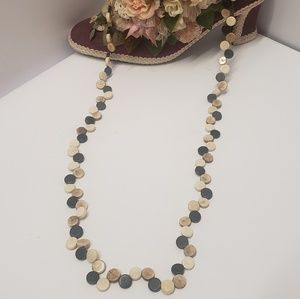 Unique Vintage Long Beaded Necklace